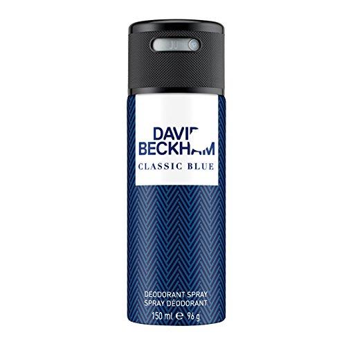 David Beckham Classic Blue Deo Body Spray 150 ml, 1er Pack (1 x 150 ml) -