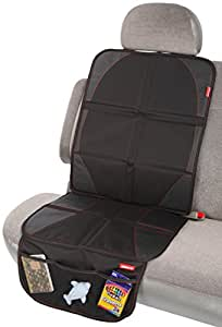 diono ultra mat car seat protector black baby. Black Bedroom Furniture Sets. Home Design Ideas