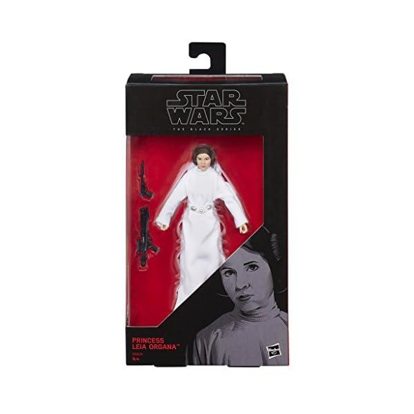 Star Wars Rogue One - Figura Princesa Leía Organa, 15 cm (Hasbro B9803ES0) 6