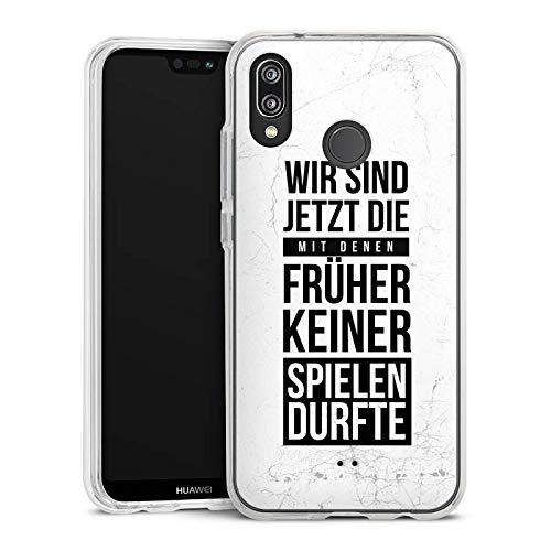 DeinDesign Huawei P20 Lite Handyhülle Bumper Case Schutzhülle Humor Fun Phrases
