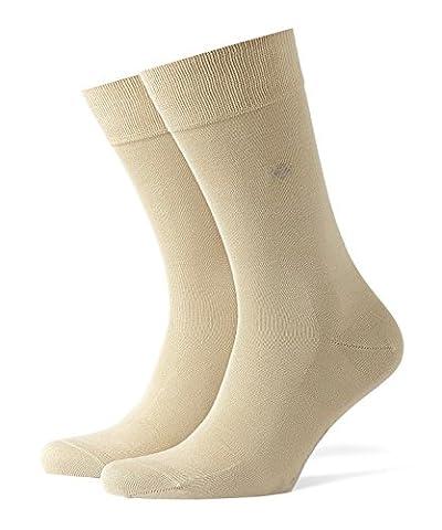 Burlington Dublin Herren Socken sand (4320) 46-50