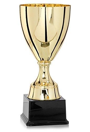 S.B.J - Sportland Pokal Gold mit Kunststoffsockel