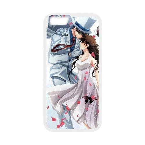 Detective Conan coque iPhone 6 Plus 5.5 Inch Housse Blanc téléphone portable couverture de cas coque EBDXJKNBO10503