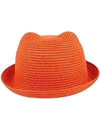 Wicemoon Sombrero de Paja Pajita Topper Playa Gorro de Playa para Mujeres  Gorra de Viaje 1b90cfec7e77