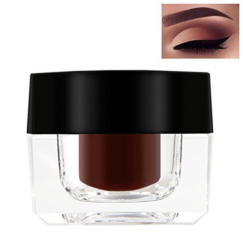 ROMANTIC BEAR Augenbrauen Gel Eyeliner Creme Seidige Pigmentierte Formel, Wasserdicht, Sweatproof...