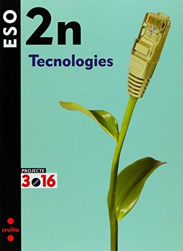Portada del libro Tecnologies. 2 ESO. Projecte 3.16 - 9788466119528