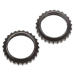 ARRMA AR330211 - Cuello de Aluminio (2 Unidades), Color Negro