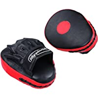 Physionics® Boxing Pads Focus Punch Target Fight Kicking Palm Pad Hook Training of Karate MuayThai Kick Boxing UFC MMA Choice of Colours
