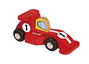Janod - Story Racing Formula 1 mini coche de madera (J08547)