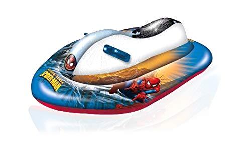 Mondo 16348 - spiderman, moto d'acqua gonfiabile per bambini