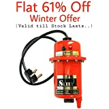 Sun Microsystems 2kW ABS Plastic Water Heater Manual Reset Model(Red)