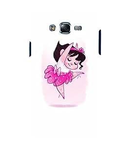 EPICCASE Ballerina Mobile Back Case Cover For Samsung Galaxy J5 (Designer Case)