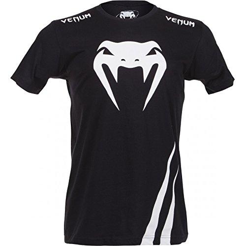 """Preisvergleich Produktbild Venum T-Shirt """"Challenger"""" - Black/Ice - MMA Shirt,Lifestyle Shirt,Kampfsport Shirt"""