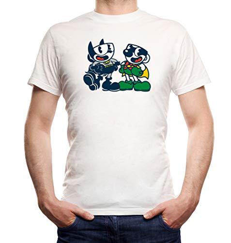 Certified Freak Cuphead Robin T-Shirt Boys White L