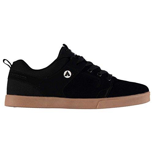 airwalk-carrington-chaussures-de-skate-homme-noir-gum-baskets-sneakers-chaussures-noir-gum-uk9-eu43