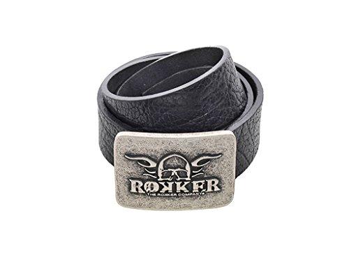 Preisvergleich Produktbild Rokker Rokford Gürtel 95cm Schwarz