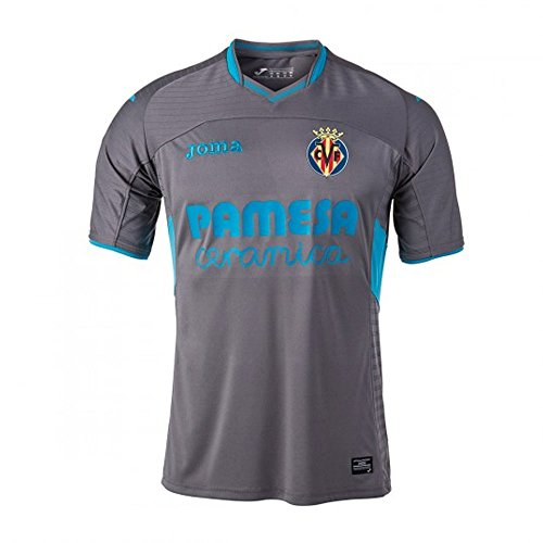 Camiseta Villarreal CF Tercera Equipación 2017-2018 Gris Talla M