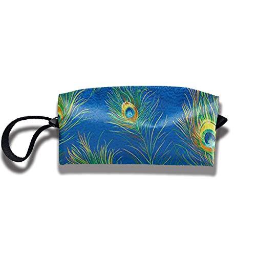 Pudel Muster Make-up Tasche Reisetasche Kosmetiktasche - Aufbewahrungstasche Clutch mit Haken & Hängen - Duck Daisy Make-up Tasche