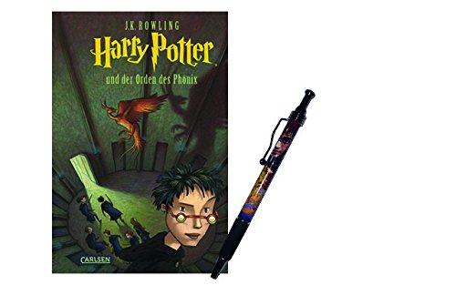 Harry Potter und der Orden des Phönix (Hardcover) + 1 Original Harry Potter Kugelschreiber (Harry-potter-serie Hardcover)