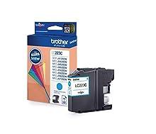 Brother LC223C Cartuccia InkJet Originale Alta Capacità, fino a 550 Pagine, per Stampanti MFCJ4420DW, MFCJ4620DW, MFCJ5320DW, MFCJ5620DW, MFCJ5720DW, DCPJ562DW, MFCJ480DW, MFCJ680DW, Ciano