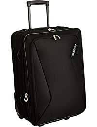 American tourister Columbia Polyester 55 cms Black Travel Bag (AMT Columbia UR 55cm Black)