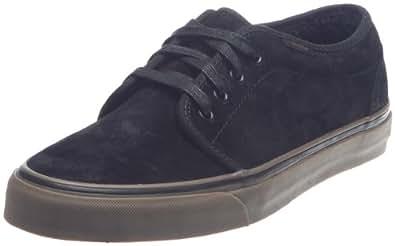 Vans Unisex Adult 106 Vulcanized Leather Suede Fleece Black/Dark Gum Trainer Vnjnl7X 11 UK