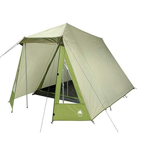 10T Zelt Kuranda  3 Mann Hauszelt wasserdichtes Campingzelt 3000mm Familienzelt Wohnraum Stehhöhe