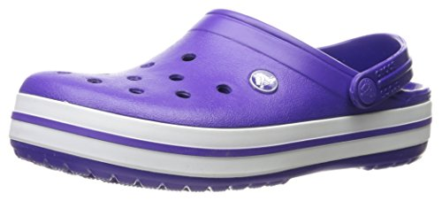 Crocs Crocband, Sabots Mixte Adulte Violet (Ultraviolet/White)