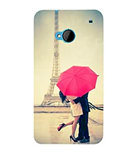 EPICCASE Effile tower Love Mobile Back Case Cover For HTC One M7 (Designer Case)