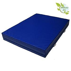 ALPIDEX Weichbodenmatte 200 x 150 x 25 cm mit Tragegriffen und Anti-Rutschboden