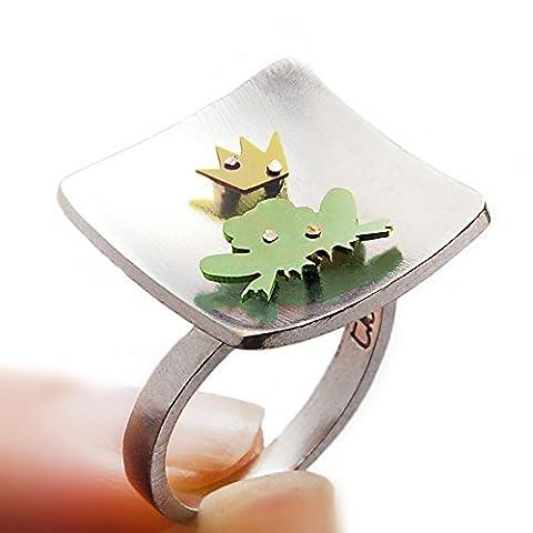 Frog prince ring, prince crown, fairy crown