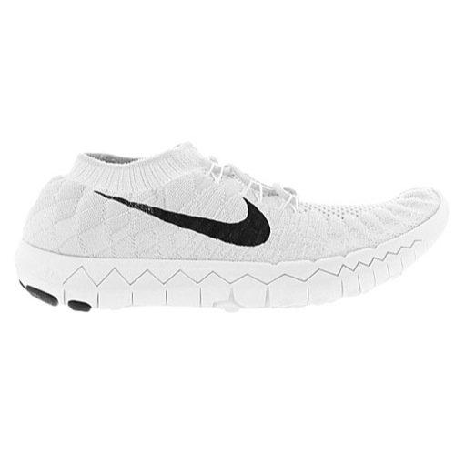 Nike Free 3.0 Flyknit, Damen Laufschuhe , - pure platinum black white...
