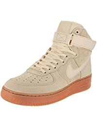 Mens Air Force 1 High 07 Lv8 Suede Gymnastics Shoes, Muslin, Muslin-Gum Med Brown Nike