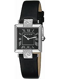 Pierre Cardin Damen-Armbanduhr Etre Envie Analog Quarz Leder