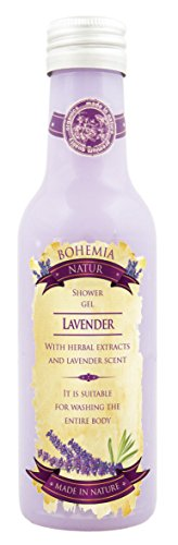 Handmade Lavender Spa Gift Pack – Shower Gel,Shampoo,Soap – Pure Natural Cosmetics