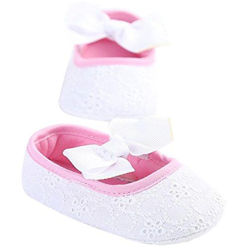 Etrack-Online , Baby Jungen Lauflernschuhe White Pink 12 - 18 Monate White Pink