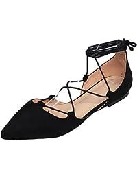 Geliebte Suchergebnis auf Amazon.de für: Schnürsenkel - Ballerinas / Damen #MF_89