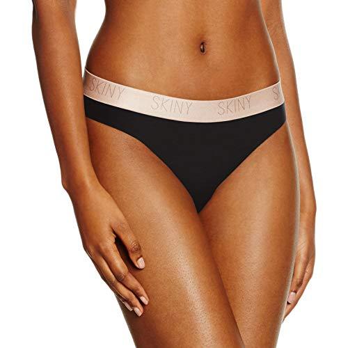 Skiny Damen Rio Slip Skiny Pure Women Rio Slip, Schwarz (Black 7665), 42