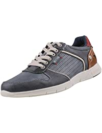 Mustang , Chaussures de ville à lacets pour homme gris Blau (Sky 875)