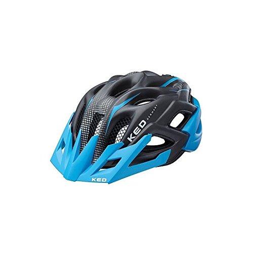 KED Fahrradhelm Status Jr. Blue Black Matt, 52-59 cm