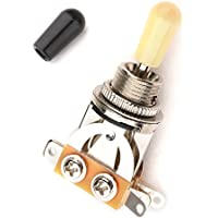 Musiclily Metric 3vie breve dritto interruttore a levetta 6 string Cream Tip - 8 String Pickup