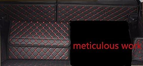 Valise de voiture Boîte de rangement Boîte de rangement Boîte à entrepôt Cuir Intérieur Box Petite boîte, 50*30*32cm