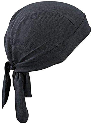 JIAHG Sport Bandana Cap Hat schnell-trocknend, Anti-UV Schutz, Damen Herren Kopftuch Piratenmütze Bikertuch Stirnband Fahrrad Radsport Motorrad Kopfbedeckung Mütze - Schweißer-cap