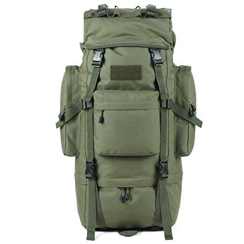 Im Freienberg Taschen/65LWasserdichte Reisetasche verstaut-schwarz 65L Armee-Grün