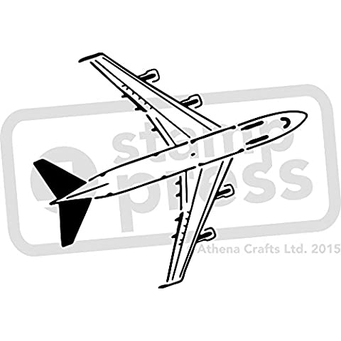 Large A2 'Jumbo Jet' Wall Stencil / Template (WS00016113)