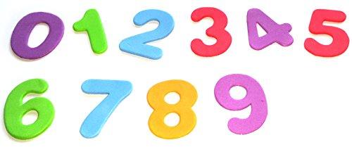 Zahlen-Aufkleber aus Schaumstoff...