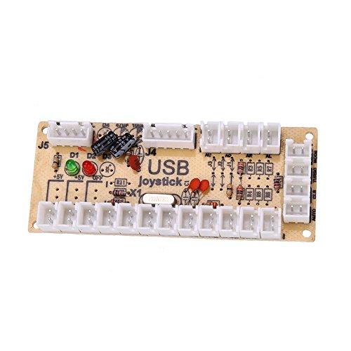 Cewaal Haihuic USB Encoder PC zu Joystick Board + Kabel Für Arcade-Spiel-Spieler-Maschine