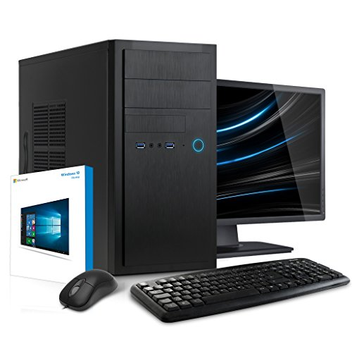 Sound Set Mit Maus (Kiebel Office-PC mit TFT [184257] Komplett-Set Intel i3-7100 4x3.9GHz | 8GB DDR4 | 1TB HDD | Intel HD Grafik 630 | USB3 | DVD | LAN | Sound | 22TFT)