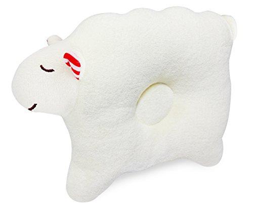 Bio-Baumwolle Babykissen, beugt Kopfverformung und Plattkopf vor, für eine schöne Kopfform Ihres Kindes, Tolebaby