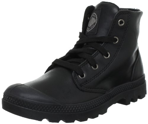 Palladium Pampa Hi Leather F, Boots femme Noir (315 Black)